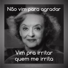 """""""DIVA NO YOUTUBE:  www.youtube.com/DivaDepressao  SE INSCREVAM NO CANAL DA DIVA❤️#diva #divas #humor #piada #sarcasmo #sarcástica #ironica #ironia…"""""""