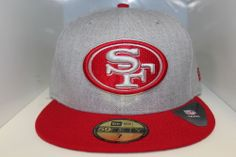 cecd4bd13 San Francisco 49ers New Era 59Fifty Cap 49ers Neutral Basic Fitted Hat