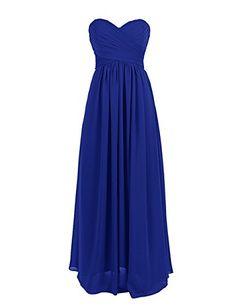 Dresstells Floor Length Chiffon Prom Dress Bridesmaid Dress Cocktail Dress Royal blue Size 26W Dresstells http://www.amazon.com/dp/B00PAM7XSU/ref=cm_sw_r_pi_dp_BffEvb0Q8EM6W