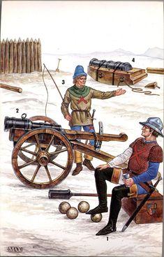 Artillery, 15th Century
