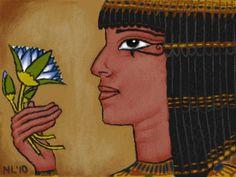 egyptian blue lotus - Google Search