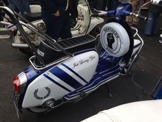 Scarborough scooter rally 2015 x Mod Scooter, Lambretta Scooter, Vespa Scooters, Motor Scooters, Northern Soul, Mod Fashion, I Cool, Modernism, Paint Ideas