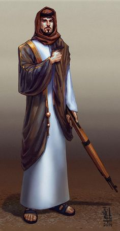 Alternate Reality m Cleric Robes w Rifle Yolla: character design by saint-max Character Concept, Character Art, Concept Art, Character Design, Arabic Characters, Fantasy Characters, The Elder Scrolls, Cthulhu, St Max