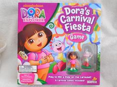 Nickelodeon Dora's Carnival Fiesta Table Board Game ages 4 up new factory sealed #Briarpatch