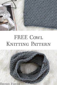 Free Comfy Cozy Cowl Knitting Pattern If You Love The * free comfy cosy cowl strickmuster, wenn sie die lieben * patron de tricot confortable et confortable si vous aimez le Halloween Knitting Patterns, Easy Knitting Projects, Easy Knitting Patterns, Knitting Charts, Free Knitting, Crochet Patterns, Knitted Cowl Patterns, Knitting Basics, Scarf Patterns