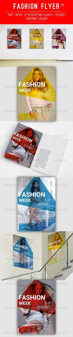 Fashion Flyer 001 — InDesign INDD #cmyk #flyer • Available here → https://graphicriver.net/item/fashion-flyer-001/6064481?ref=pxcr