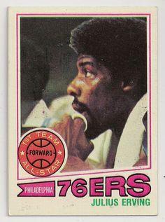 1977-78 Topps #100 Julius Erving - Philadelphia 76ers - Basketball http://www.ebay.com/itm/1977-78-Topps-100-Julius-Erving-Philadelphia-76ers-Basketball-/301647479274?hash=item463b9741ea