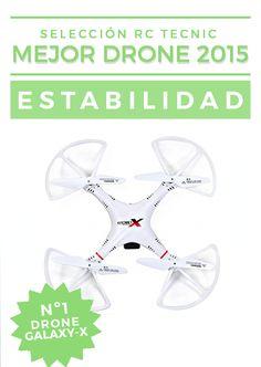 El Drone más estable 2015: DRONE GALAXY X http://www.rctecnic.com  #drones #dronesrc #minidrones #estabilidad