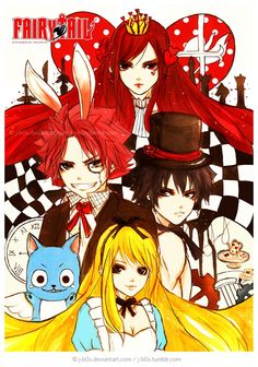 Fairy tale/alice in wonderland