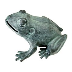 Design Toscano Medium Bull Frog Cast Bronze Garden Statue *** Learn more by visiting the image link. This Amazon pins is an affiliate link to Amazon.