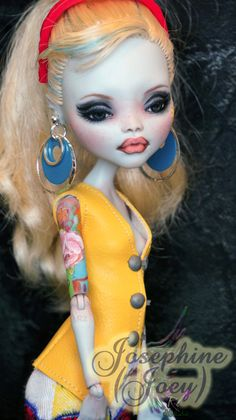 "monster high - repaint / custom ""joey"""
