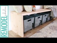Are you looking for a DIY wooden bench that is easy and quick to make but still looks great and has great function too? Our tutorial will be perfect for you. We…