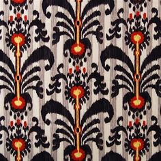 Love this Ikat fabric