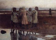 """The kissing ring,"" William Stott of Oldham (1857 - 1900)"