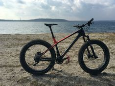 Canyon Fatbike am Strand. :-) #fatbike #canyon #dude