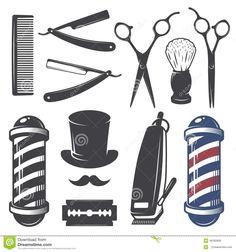 stencil barbeiro - Pesquisa Google