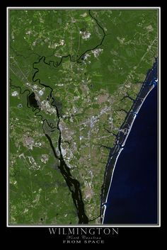 21 Best NORTH CAROLINA FROM SPACE images
