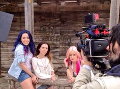 Behind the escenes del videoclip de This Is The Life