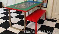 lego table finished
