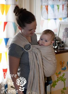 I've talked about babywearing before (you can see my posts here and here , and how I made my own mei tai carriers here and here ) but it's n...