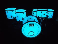 glow in the dark drum cymbals - Google Search