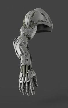 22 ideas for robot concept art cyberpunk artworks Mechanical Arm, Mechanical Design, Robot Concept Art, Armor Concept, Neon Noir, Arte Robot, Futuristic Armour, Robot Arm, Robot Design