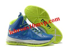 "Nike Zoom Lebron 10(X) ""Miami"" Blue/Green"