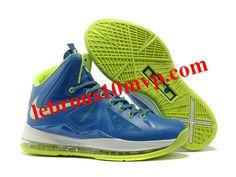 """Nike Zoom Lebron 10(X) """"Miami"""" Blue/Green"""
