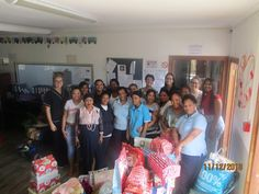 We ran a shoebox project in the beginning of Dec '18 with one of our local charity organizations. This time around it was specifically for Agape.  The staff had the opportunity to present gifts to 47 disabled children, and what a blessing it was to see the faces of the names that we bought gifts for.