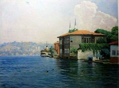 Ahmet YAKUPOĞLU Once Upon A Time, Istanbul, The Originals, Painting, Karma, Ottoman, Landscapes, Canvas Art, Pictures