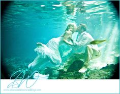 Underwater wedding Photography Cancun