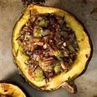 Side Dish | Wild Rice Stuffed Acorn Squash