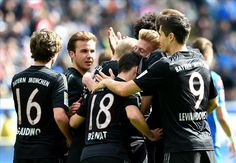 Hoffenheim Bayern Munich: Rode keeps champions on track for title Dfb Team, Lewandowski, Champion, Baseball Cards, Sports, Munich, Track, Fc Bayern Munich, Hs Sports