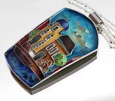 Кулон перегородчатая эмаль, фото MetalloFon Scarf Jewelry, Enamels, Enamel Jewelry, Techno, Handmade Jewelry, Jewelery, Ancient Jewelry, Resin, Pendants