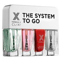 Formula X - The System To Go CLIX! – Nail Polish Set #sephora