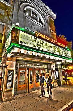 Somerville Theater, Davis Square, Somerville, Massachusetts