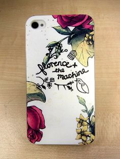 """iphone 4 case iphone 4s case Rose """" florence x the machine"""