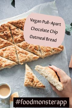 Check out this awesome vegan, plant-based, simple recipe on the Food Monster App! And don't forget to pin to your favorite board! Vegan Dessert Recipes, Vegan Breakfast Recipes, Delicious Vegan Recipes, Vegan Sweets, Gourmet Recipes, Cooking Recipes, Yummy Food, Healthy Recipes, Vegan Food
