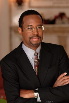 Doctor Ben Carson Heart Surgeon- the man who invented everything, can do everything, and all of it... better than you, without even trying.. MY IDOL