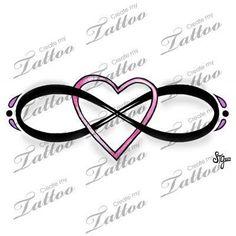 e57a13f79 tattoo infinity heart tattoo designs Create my tattoo infinity heart ...  Eternity Tattoo,