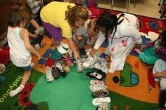 our feet in a dinosaur foot print