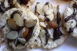 Gluten Free  Chewy Almond Joy Coconut Macaroon Discs