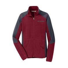 Roush Automotive Collection Store - Roush Ladies Red Colorblock Microfleece (3328), $49.95 (http://store.roushcollection.com/new-in-2016/roush-ladies-red-colorblock-microfleece-3328/)