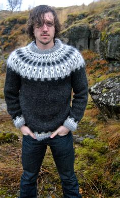 XS Sif Icelandic Sweater - Handmade with 100% Pure Icelandic Wool