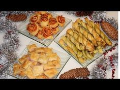 3 idei de aperitiv rapid cu foietaj///3 idee di antipasto veloce con pasta sfoglia - YouTube Focaccia Bread Recipe, Bread Recipes, Crepes, Puff Pastry Recipes, Antipasto, Family Meals, Bakery, Food And Drink, Appetizers