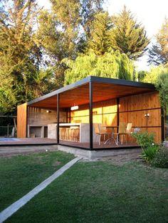 Pergola Kits Attached To House Metal Pergola, Pergola With Roof, Pergola Patio, Modern Pergola, Pergola Kits, Outdoor Rooms, Outdoor Living, Outdoor Decor, Gazebos