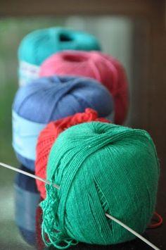 Foxs Lane: How to crochet ric-rac.
