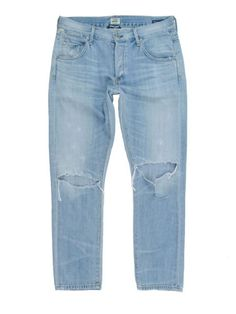 $278 Citizens of Humanity Premium Vintage Emerson Destroyed Slim Boyfriend - 27 in Clothing, Shoes & Accessories, Women's Clothing, Jeans | eBay