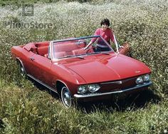 1965 Corvair Convertible - my mom's car