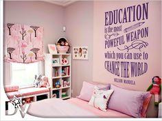 Angol nyelvű motivációs szöveg gyerekeknek. #sulis#iskola#iskolakezdés#tanulás#tanulásimotiváció#gyerekszobafalmatrica# Home Decor, Decoration Home, Room Decor, Home Interior Design, Home Decoration, Interior Design